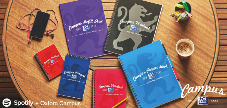 Oxford campus notebook